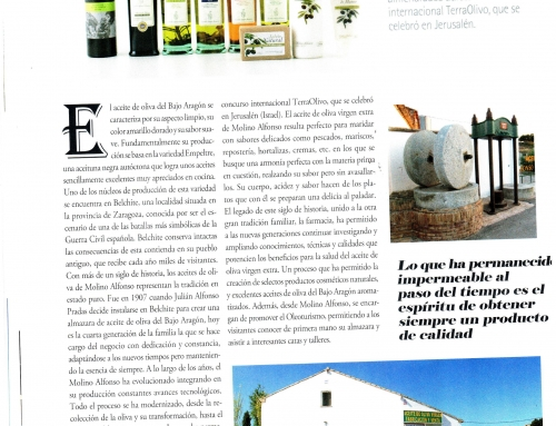 MOLINO ALFONSO en la revista SPEND IN
