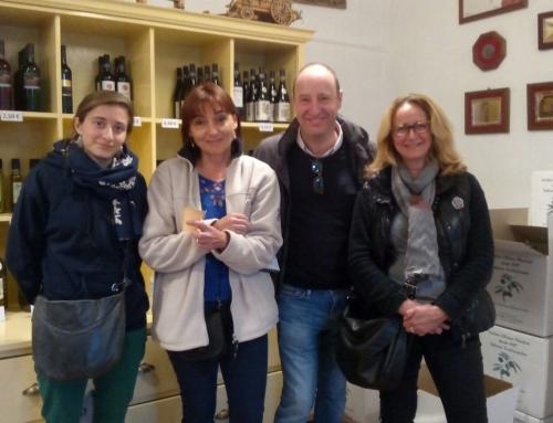 Alumnos franceses visitan nuestra almazara