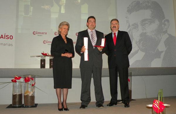 Aceites Alfonso Muniesa, recibe la medalla BASILIO PARAISO