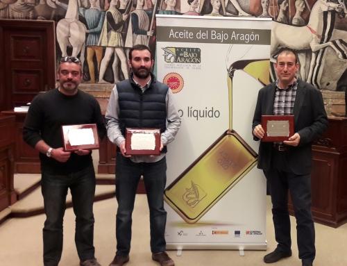 """Premios 2017 """"Mejor Aceite del Bajo Aragón"""""""