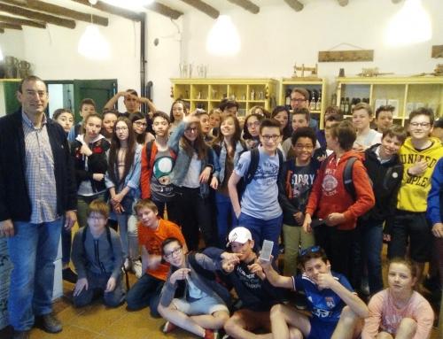 """Visita del colegio francés """"Aux lazaristes"""" de Lyon"""