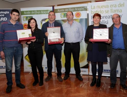 """Premios 2018 """"Mejor Aceite del Bajo Aragón"""""""