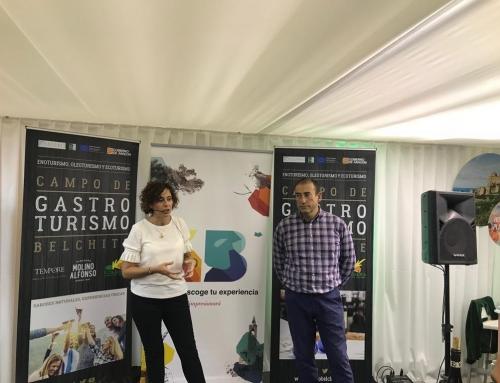Presentación GastroBelchite en el Espacio Aragón