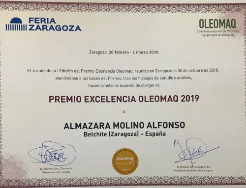 OLEOMAQ FERIA DE ZARAGOZA – PREMIO EXCELENCIA 2019
